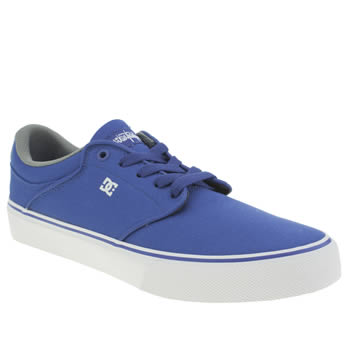 Mens Dc Shoes Blue Mikey Taylor Vulc Tx Trainers
