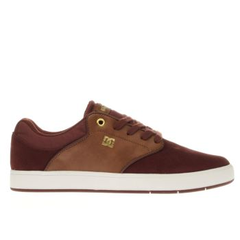 Dc Shoes Burgundy Mikey Taylor Trainers