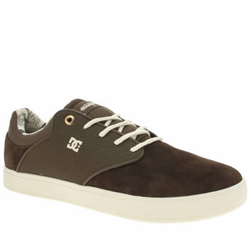 Dc Shoes Brown Mikey Taylor Mens Trainers
