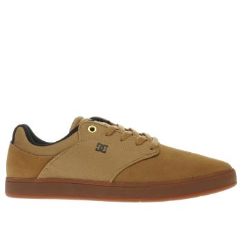 Dc Shoes Tan Mikey Taylor Mens Trainers
