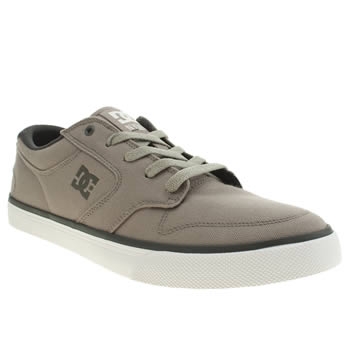 Mens Dc Shoes Light Grey Nyjah Vulc Tx Trainers