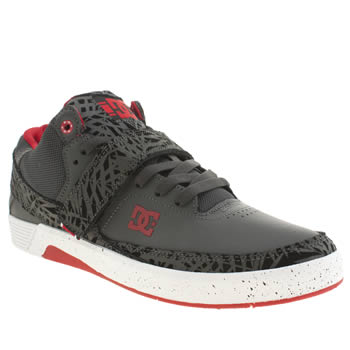 Mens Dc Shoes Dark Grey Rd X Mid Se Trainers