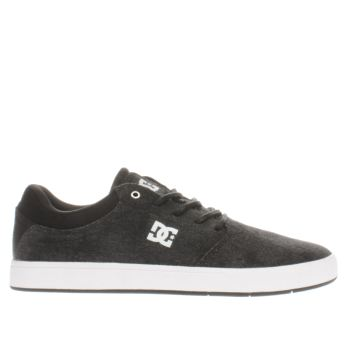 Dc Shoes Black Crisis Tx Se Mens Trainers