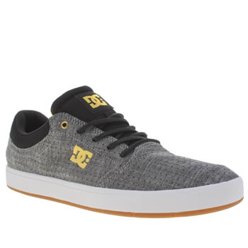 Mens Dc Shoes Grey Crisis Tx Se Trainers