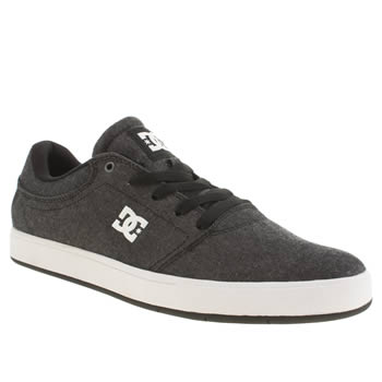 Mens Dc Shoes Dark Grey Crisis Tx Se Trainers