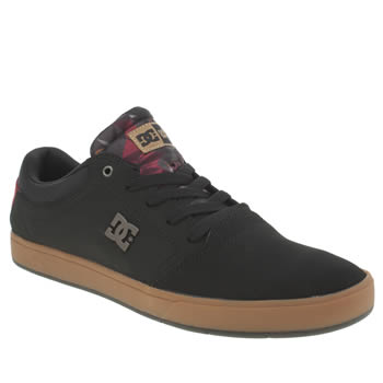 Mens Dc Shoes Black Crisis Deft Family Trainers