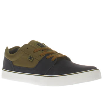 Dc Shoes Navy & Green Tonik Trainers