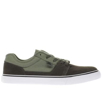 Dc Shoes Khaki Tonik Mens Trainers