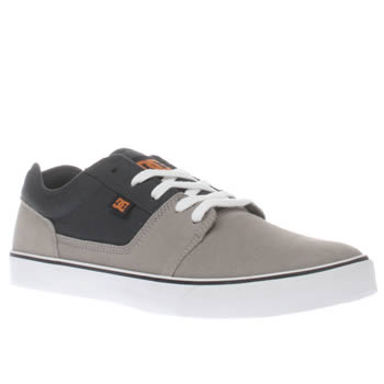 Dc Shoes Grey & Navy Tonik Trainers