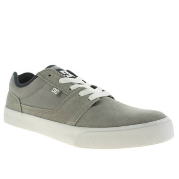 Mens Dc Shoes Light Grey Tonik Trainers