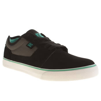 Mens Dc Shoes Black Tonik Trainers