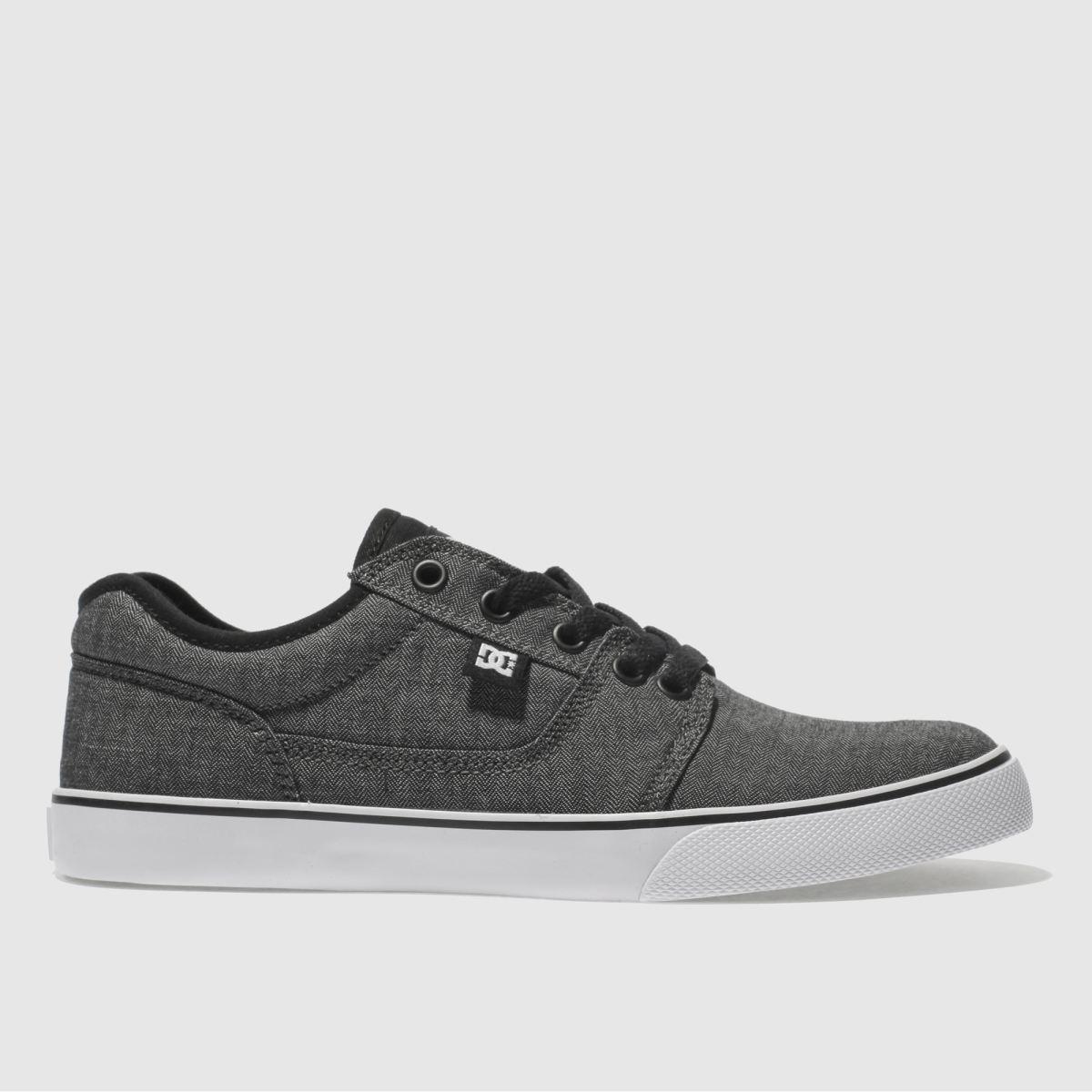dc shoes Dc Shoes Black & Grey Tonik Se Trainers