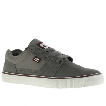 Mens Dc Shoes Grey Tonik Trainers