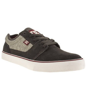 Mens Dc Shoes Dark Grey Tonik Trainers