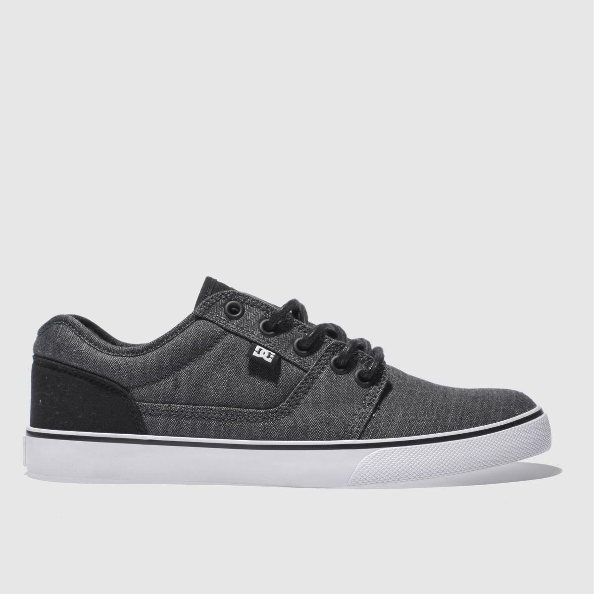 dc shoes Dc Shoes Dark Grey Tonik Trainers