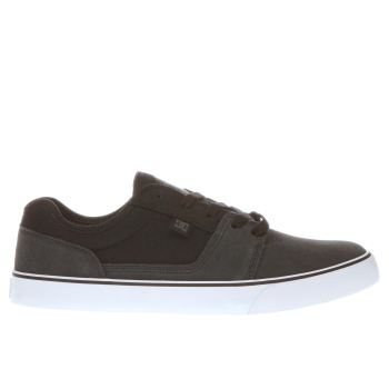 Dc Shoes Grey & Black Tonik Mens Trainers