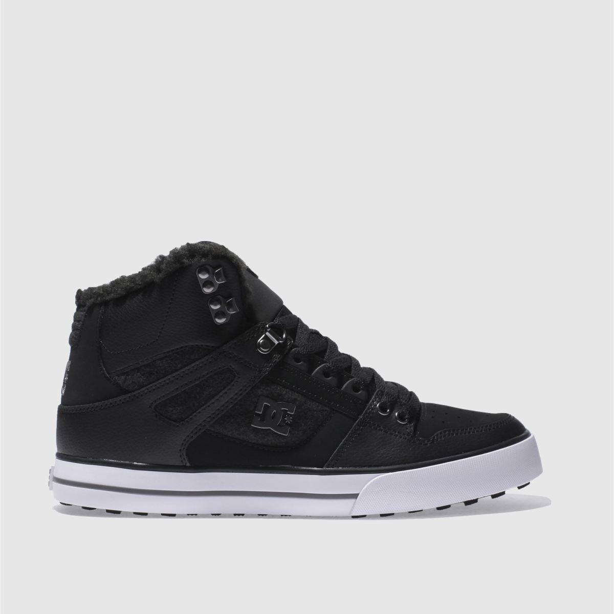 dc shoes Dc Shoes Black Spartan Hi Wc Wnt Trainers