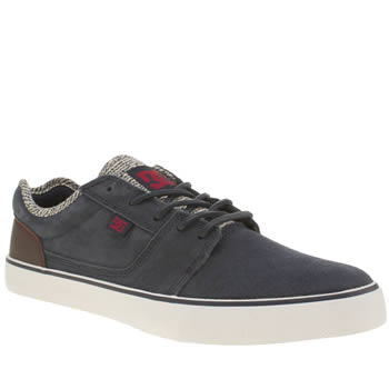 Mens Dc Shoes Navy Tonik Se Trainers