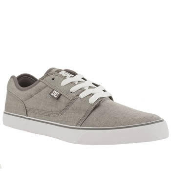 Dc Shoes Light Grey Tonik Tx Se Trainers