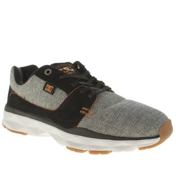 Dc Shoes Black & Grey Player Tx Se Mens Trainers