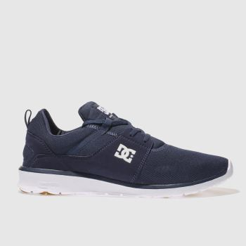 Mens Dc Shoes Navy Heathrow Trainers