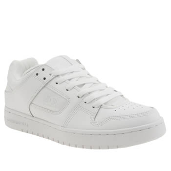 Dc Shoes White Manteca Trainers