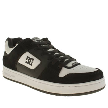 Dc Shoes Black & White Manteca Trainers