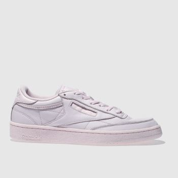 Reebok Pink Club C 85 Elm Mens Trainers