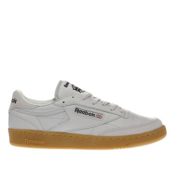 Reebok Light Grey Club C 85 Tdg Trainers