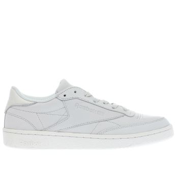 Reebok Grey Club C 85 Mens Trainers