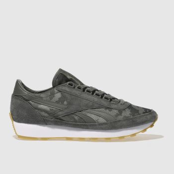 Reebok Grey Aztec Mens Trainers