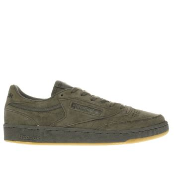 Reebok Khaki Club C 85 Tg Mens Trainers