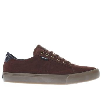 Lakai Burgundy Flaco Mens Trainers