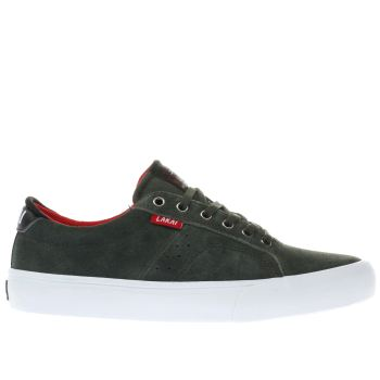 Lakai Green Flaco Mens Trainers