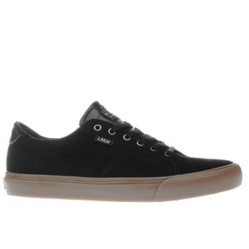 LAKAI BLACK FLACO TRAINERS