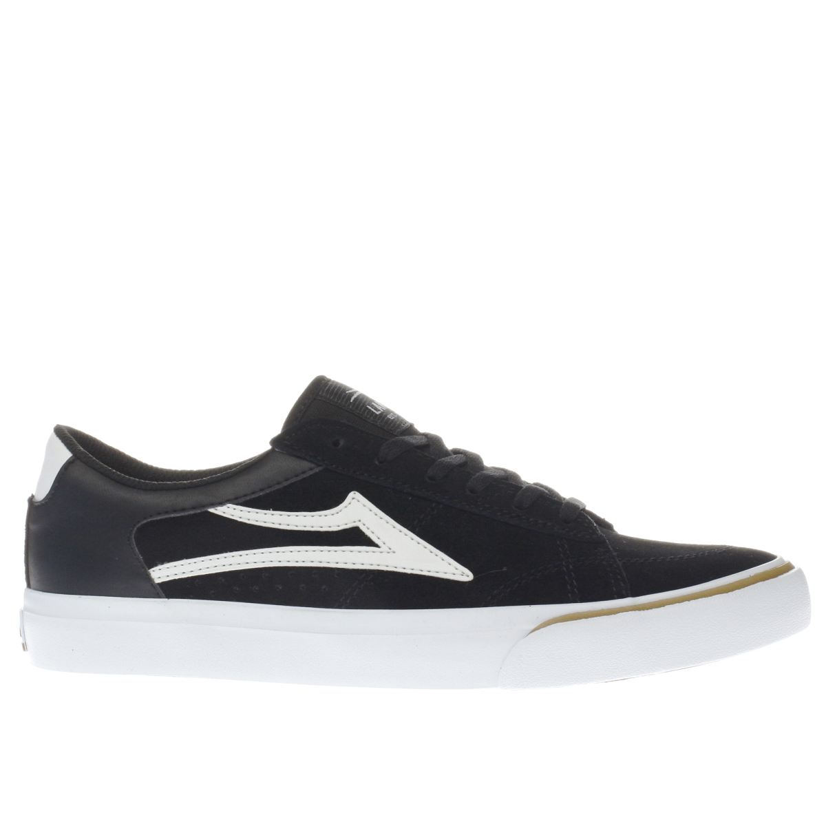 lakai black & white ellis trainers