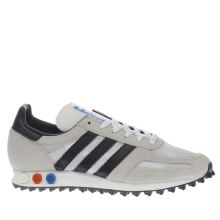 Adidas White La Trainer Og Mens Trainers