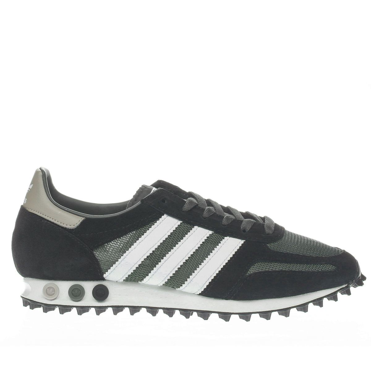 adidas black & green la trainer og trainers
