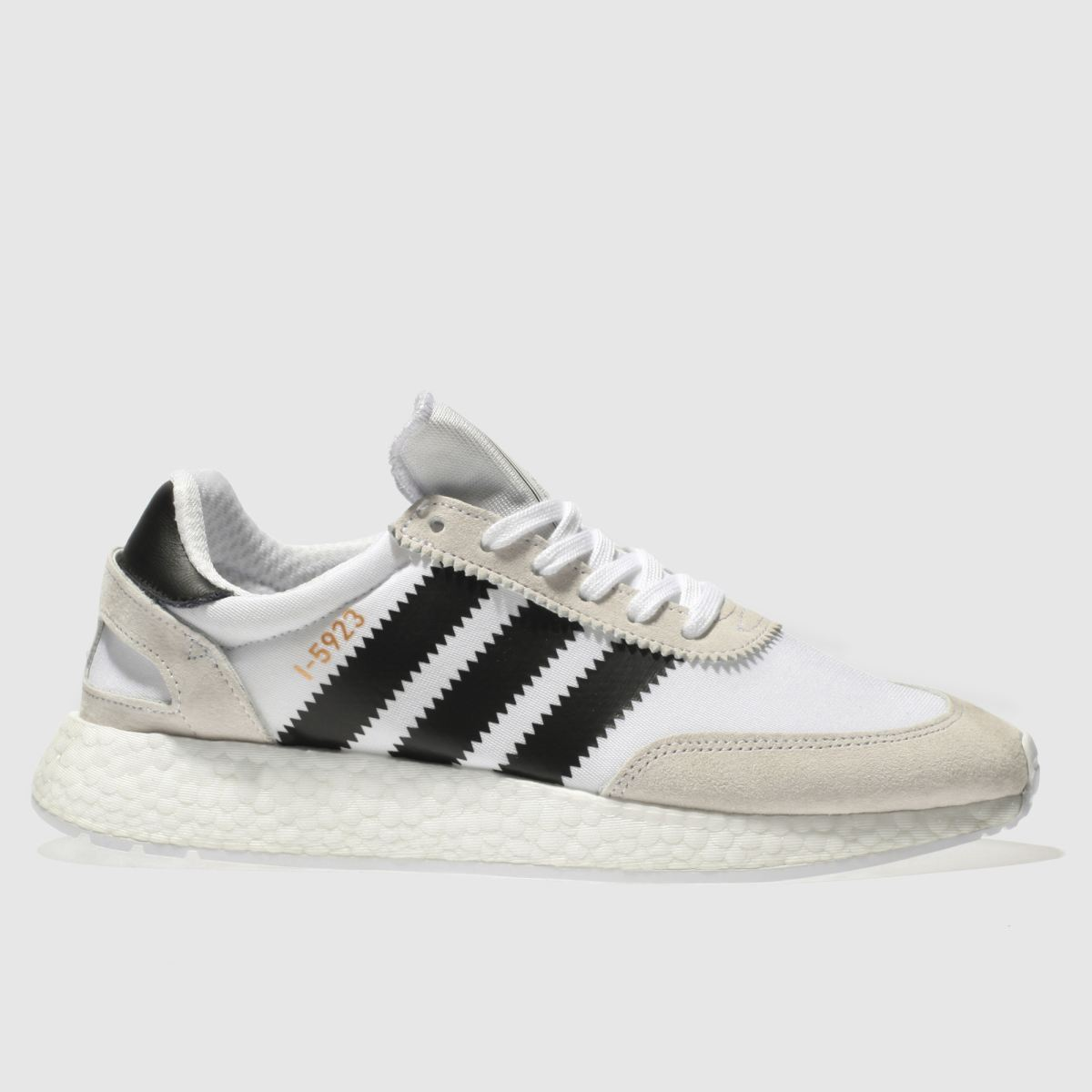 Adidas White & Black I-5923 Trainers