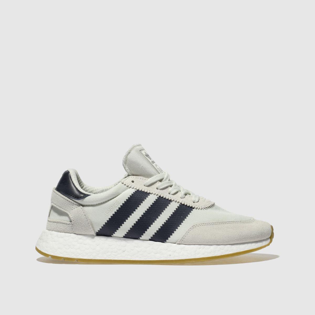 Adidas White & Navy I-5923 Trainers