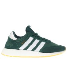 Adidas Green Iniki Runner Mens Trainers