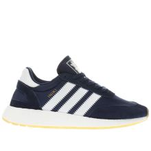 Adidas Navy & White Iniki Runner Mens Trainers