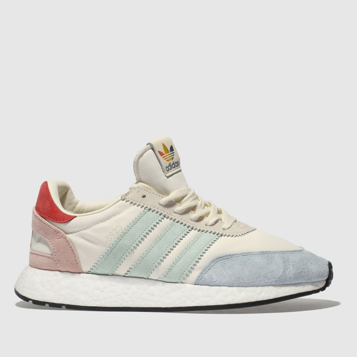 Adidas Stone & Pale Blue I-5923 Pride Trainers