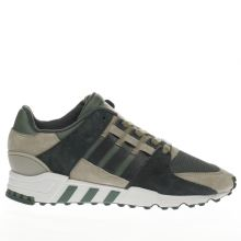Adidas Green Eqt Support Rf Mens Trainers