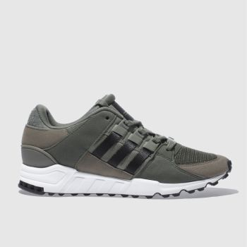 Adidas Khaki Eqt Support Rf Mens Trainers
