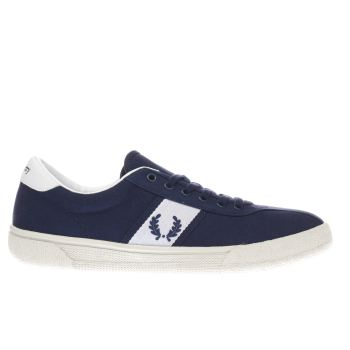 Fred Perry Navy Authentic Tennis Trainers