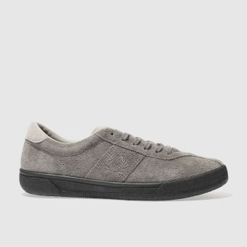 Fred Perry Grey Authentic Tennis Mens Trainers