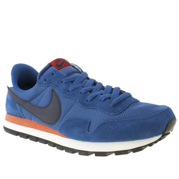 Mens Nike Blue Pegasus 83 Trainers