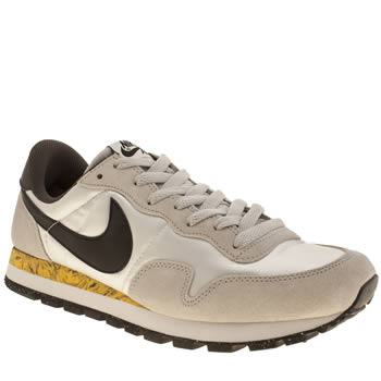 Mens Nike Light Grey Peg 83 Trainers