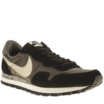 Mens Nike Black & Gold Pegasus 83 Trainers